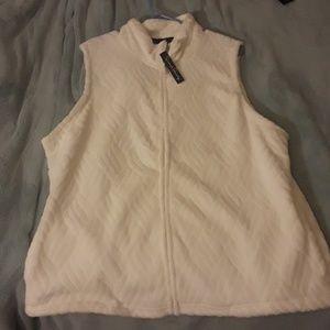 Jackets & Blazers - NEW White vest